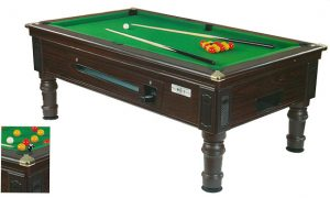 Supreme Prince Mahogany Pool Tablebig